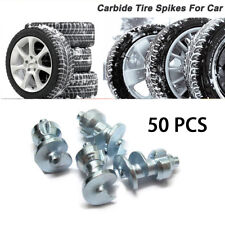 Car Truck Motorcycle Wheel Tires Anti-slip Spikes Studs Screws Tungsten Carbide