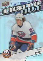 2018-19 Upper Deck Overtime Hockey Lights Out #LO-14 Mike Bossy