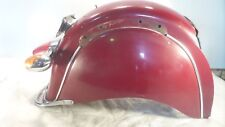 03 2003 Indian Gilroy Chief Vintage Red Rear Wheel Cover Fender