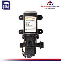 Camplux 12V Water Pump 65PSI DC 1.6GPM 6LPM Diaphragm for Caravan RV