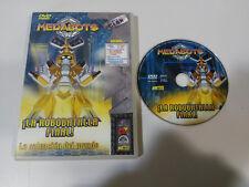 MEDABOTS LA ROBOBATALLA FINAL DVD + EXTRAS 3 CAPITULOS ESPAÑOL ENGLISH ANIME