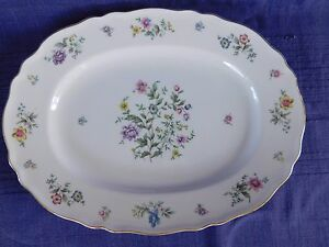 "Franconia Millefleurs 13-5/8"" OVAL SERVING PLATTER have more items to this set"