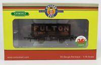 BNIB OO GAUGE OXFORD RAIL OR76MW7018W 7 PLANK WAGON WEATHERED FULTON COAL