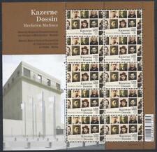 Belgium**WW 2 CONCENTRATION CAMPS MUSEUM-SHEET 10v-HOLOCAUST-2013-JUDAICA