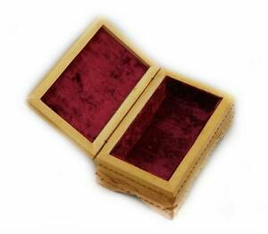 New Wooden Jewelry Box Hand Carved Handmade Ukrainian Jewel-case Real Wood