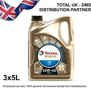 Total Rubia TIR 8900 10w-40 Engine Oil (3x5ltr)