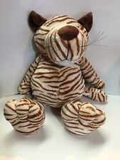 NICI Wild Friends Tiger German Stuffed Plush Animal 22 Inches With Navel