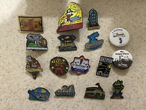 Six Flags Great Adventure pins