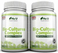 Probiotics 2 bottles 360 Caps 10 Billion Forming CFU's yeast infections  Nu U