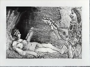 PICASSO Limited Ed. 180, Aquatint; 'L'aubade', 1968, from Le Cocu Magnifique