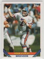 1993 Topps Football Denver Broncos Team Set