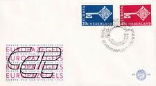 (40183) Netherlands FDC EUROPA 1968