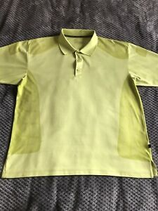 Ping Mens Green Short Sleeve Polo Shirt XL Excellent Condition