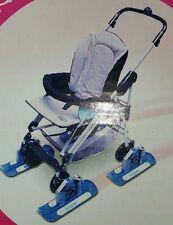 Safe Start 20052 Baby Stroller Skis Winter Summer Snow Sand Beach NOS Austria