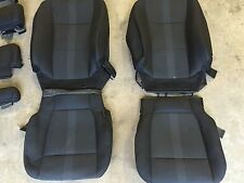 FACTORY OEM CLOTH REPLACEMENT SEAT COVERS BLACK 2015 2016 2017 F150 SUPER CREW