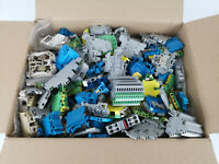 Konvolut Reihenklemmen, Durchgangsklemmen versch. Hersteller ca. 1,5kg in Karton