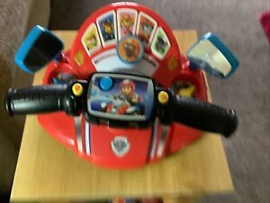 Paw Patrol Pups to the Rescue Driver Interactive Steering Wheel