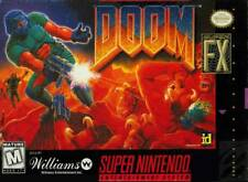 Doom SNES Great Condition Fast Shipping