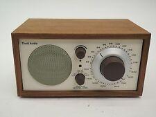 TIVOLI AUDIO HENRY KLOSS MODEL ONE AM/FM TABLE RADIO - WALNUT / BEIGE FACEPLATE