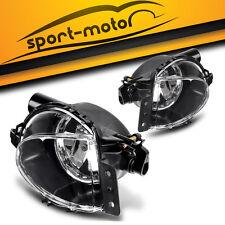 for 06-08 BMW E90 328i 328xi 335i 325i 325xi CLEAR BUMPER FOG LIGHTS LAMPS PAIR