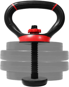 Kettle Bell Grip Dumbbell Plate Weight Handle Workout Fitness Training Equipment