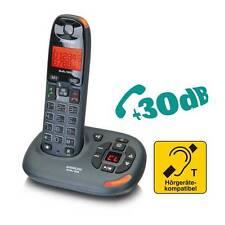 Audioline BigTel 158 schnurloses Seniorentelefon mit Anrufbeantworter NEU