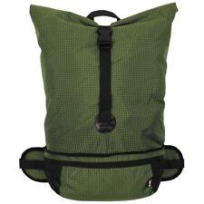 MFH Rucksack Faltbar 35 Liter Oliv Ripstop Nylon Backpack Cityrucksack