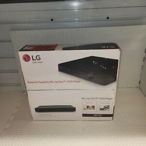 LG BP155 HD Blu-Ray Disc/DVD Player 1080P