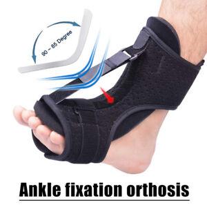 Fußheber Stützbandage Fuß Tropfen Stütze Knöchel Schiene Linderung Orthese NEU