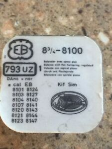 EB Caliber 8100 8101 8102 8103 Balance Complete Part 793uz New In Pack