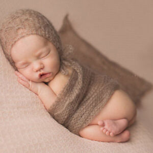 Newborn Baby Photography Props Streched Wrap Blankets Super Soft Towl for Studio