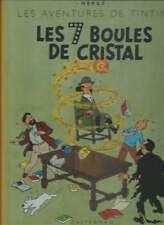HERGÉ . TINTIN LES 7 BOULES DE CRISTAL . FAC-SIMILÉ DE L'EO 1948 . EO . 2001