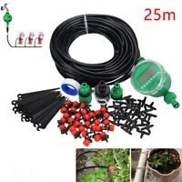 UK Watering System Garden Hose Automatic Timer Plant Water Drip Irrigation Tool