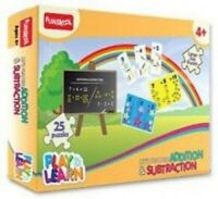 Pack of 1,Lets Practise Adition And Subtraction Puzzle From Funskool For 2-6 Yrs