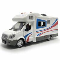 1:32 Camper Wohnmobil Die Cast Modellauto Auto Spielzeug Model Sammlung Weiß