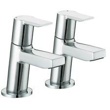 Bristan Pisa Basin Taps PS 1/2 C - Chrome BNIB