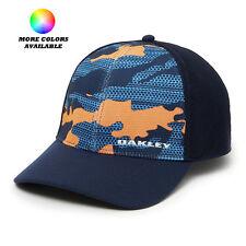 Oakley Golf Silicon Bark Trucker 2.0 Print Hat Cap 911722 - Select Size