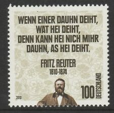 Germany 2010 Fritz Reuter SG 3691 MNH