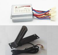 24V 500W Motor Brushed Controller Speed Control Box & Foot Throttle for E-Bike