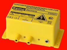 KEMO FG025 NEU 12V WEIDEZAUN-GENERATOR Hochspannungsgenerator 2 kV Elektroschock