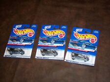 HOT WHEELS - 2000 FIRST EDITIONS - LOT OF 3 - LOTUS ELISE 340R - SILVER - NEW