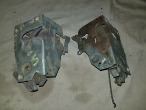 ORIGINAL MOPAR DODGE 1968-69 A BODY LH RH FRONT DOOR LATCH DART CUDA PAIR
