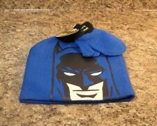 77dd677063c Toddler Batman Boys Hat And Mitten Set NEW