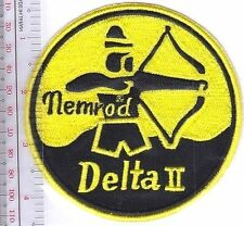 SCUBA Diving Spain Nemrod Delta II Regulator Patch Buceo Espana Regulador de Buc