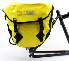 AAWYEAH Waterproof Bicycle Tour Rear Pannier,Touring Bag,Heavy Duty,Yellow,Large
