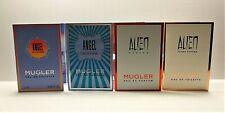 Mugler Alien Fusion, Alien Flora, Angel Eau Croisiere, Angel Fruity Fair sample