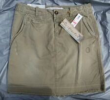 "Old Navy ""Destructed"" Light Army Green Cotton Mini Skirt w/Pockets-Sz. 4-NEW-NWT"