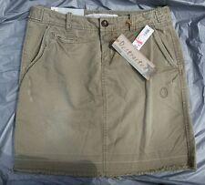 "Old Navy ""Destructed"" Light Army Green Cotton Mini Skirt w/Pockets-Sz. 4-NEW-NWT"
