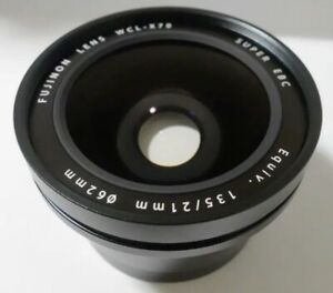Fujifilm Fuji Film WCL-X70 Wide Conversion Lens F. X70 Digital Camera Black