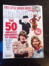 January Radiotimes Film & TV Magazines in English